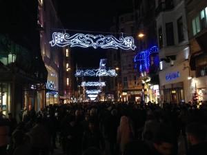 Istikbal Caddesi an einem normalen Samstag Abend