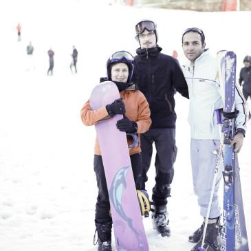 Snowboarden im Iran – check! //