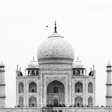 Endlich am Taj Mahal