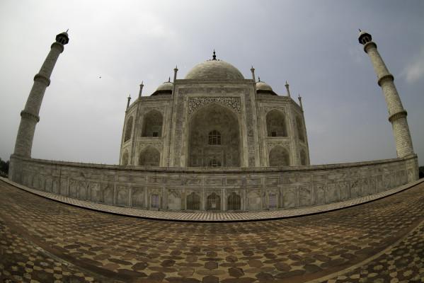 Taj-Mahal seitlich