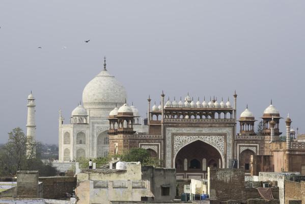 Taj-Mahal mit Moschee