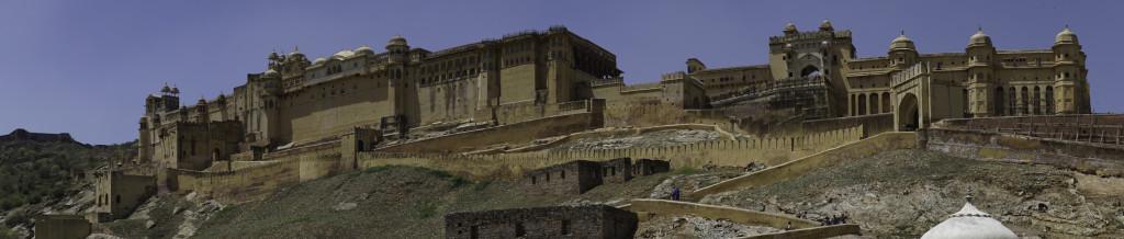 Jaipur - Amber Fort Panorama