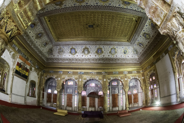 Phul Mahal - Palace of Flowers - in Mehrangarh