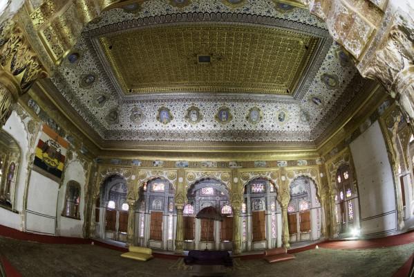 Phul Mahal - Palace of Flowers - in Mehrangarh
