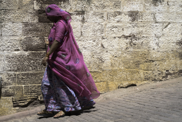 On the streets of Jodhpur