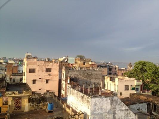 Blick über Varanasi