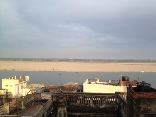 Blick überr den Ganges