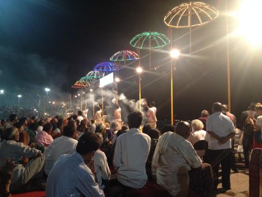 Varanasi Ganges-Zeremonie
