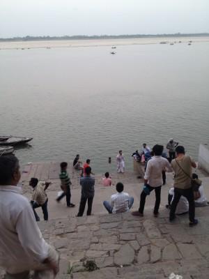 posen am Ganges