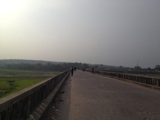 Grenzübergang Nepal-Indien