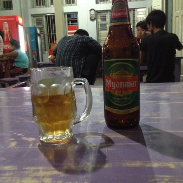 Endlich in Myanmar