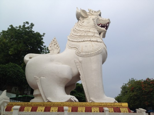 Mandalay Hill Eingang