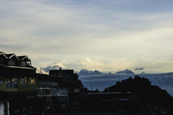 Blick auf den Kangchenjunga