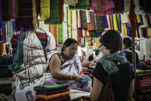 Frauenmarkt in Imphal