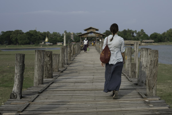 U Bein Brücke in Amarapura