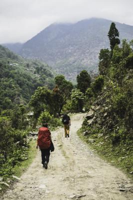 Weg nach Tikhedunga
